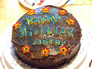 14th birthday cake