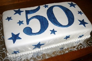 Great 50th Birthday Cake Designs:50th Birthday Cake Decoration Ideas
