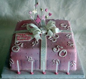 Decorated cakes on pinterest 50th birthday cakes for 50th birthday decoration ideas for women