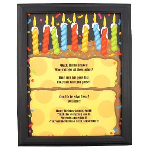gifts for a 70th birthday, framed Happy 70th Birthday Funny ...