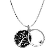 Best Friend Silver Chain Necklace
