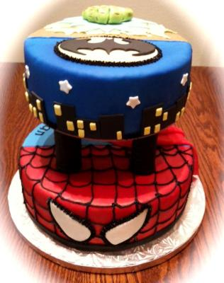 Captain America Birthday Cake on Superheroes Birthday Cake Captain America Coloring Pages Marvel Super
