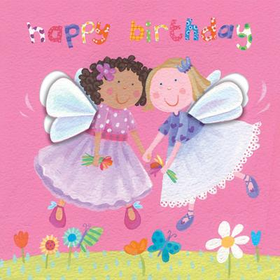 A sweet card for your little princess