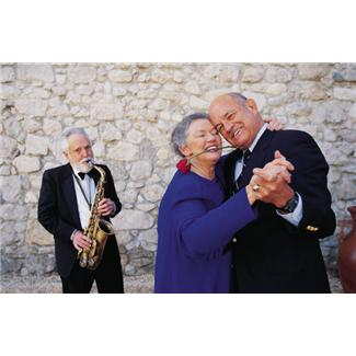 romantic 70th birthday idea