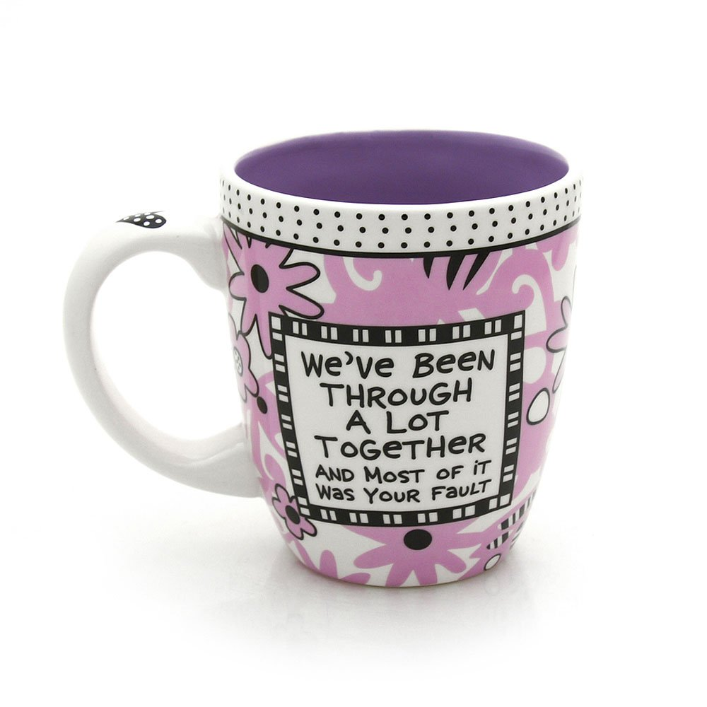 Thank you for being a friend. mug gift
