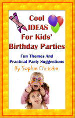 Cool Ideas for Kids Birthday Parties - Book