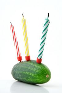 Healthy Birthday Cake!!!